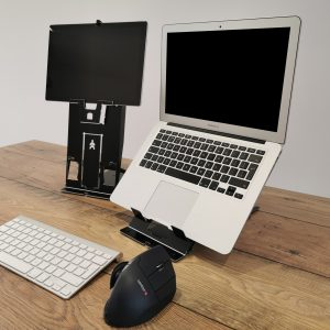TIO Two in One Laptop Tablet Stand